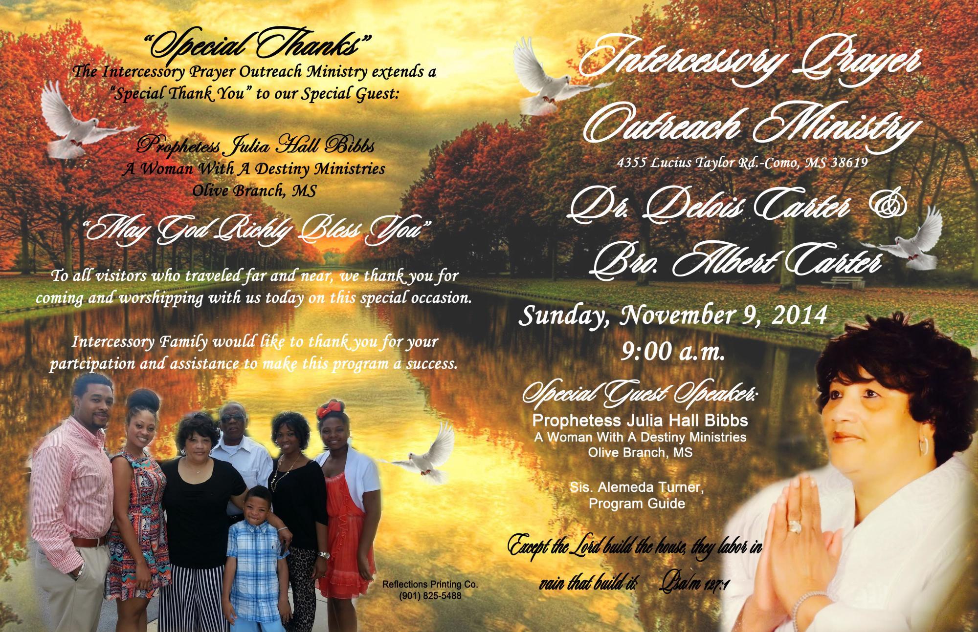 beautiful pastor appreciation programs   just b.CAUSE